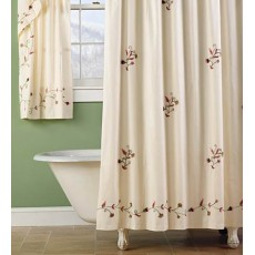Embroidered Shower Curtains 01