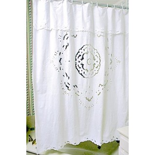 Embroidered Shower Curtains 03
