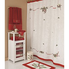 Embroidered Shower Curtains 02