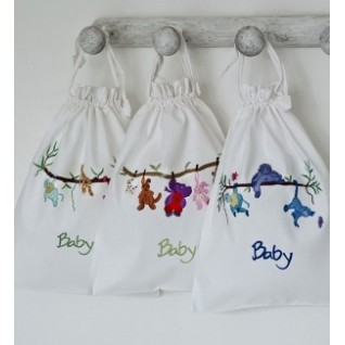 Baby laundry bag