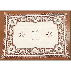 Embroidered Cotton Place Mat 01