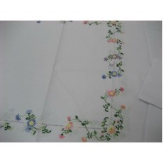Embroidered Tablecloth 07
