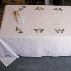 Embroidered Tablecloth 11