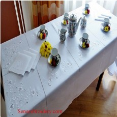 Hand Embroidered Tablecloths