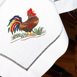 Embroidered Tablecloth 02