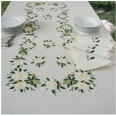 Embroidered Tablecloth 03