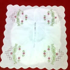 Embroidered Tissues Box Cover 05