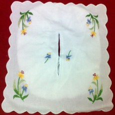 Embroidered Tissues Box Cover 08