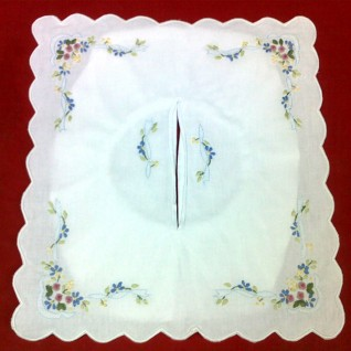 Embroidered Tissues Box Cover 07