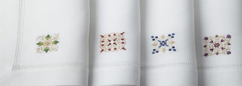 hand embroidery napkins
